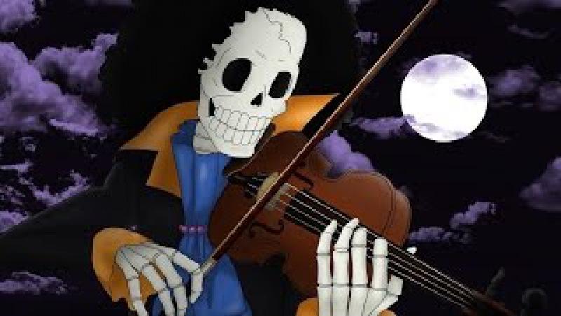 One piece/Brook song YO HO HO HO ... ون بيس اغنية بروك/ يهو هوو هوو هوو