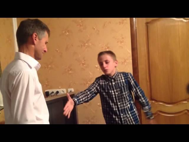 Сын поет рэп-песню папе в его день рождения сквозь слезы