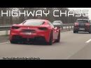 Ferrari 488 GTB High Speed Autobahn Chase!
