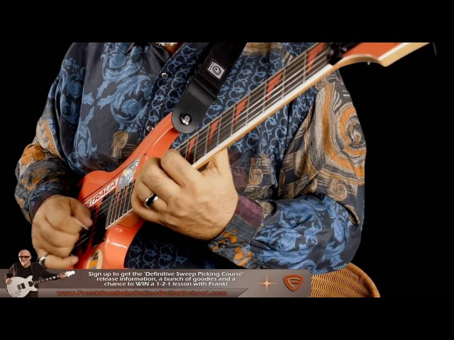 Sweep Picking Medley - Frank Gambale New Guitar Performance Video
