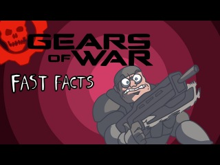 Gears of War FAST FACTS! | GoW Франшиза | AKR | LORE