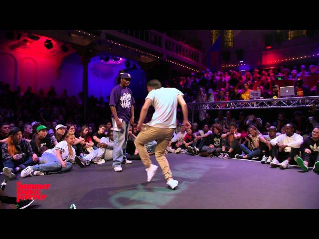 Waydi vs Niako JUDGE BATTLE Hiphop Forever - Summer Dance Forever 2015