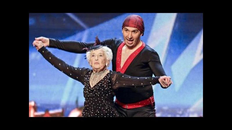 SALSA ! GREAT GRANDMOTHER Sarah Paddy Jones Nico Britain's Got Talent SUPER BABCIA abuela