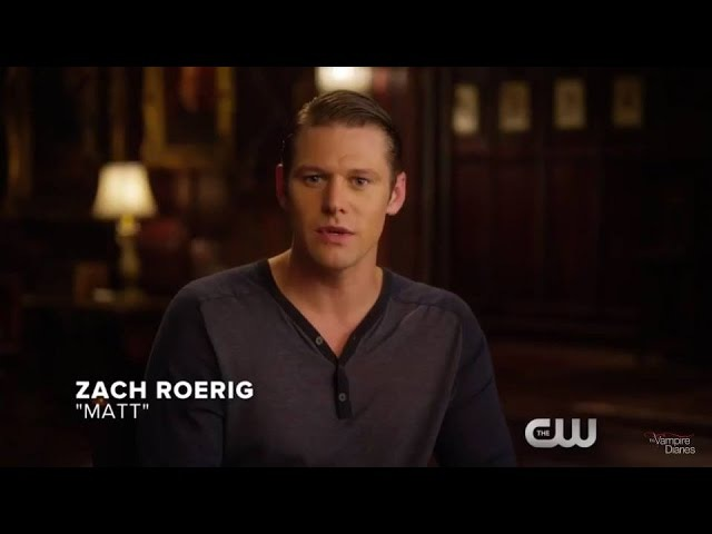 The Vampire Diaries: 8x01 - Zach Roerig: Three days countdown (promo) [HD]
