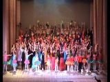отчетный концерт Диана_коллективу 18 лет_2015 год