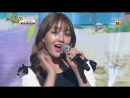 160624 Jihyo, Tzuyu, GFRIEND's SinB CLC's Elkie - Loving U at Music Bank Half Year Special