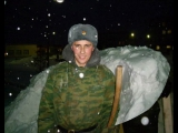 Зима 1 полк (в/ч 61896) АДН Таманская дивизия 2007 год