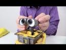 Видео для детей Робот ВАЛЛИ и строительная техника! Роботы Игрушки! Wall E