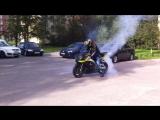 Yamaha r1 жгу балон