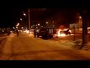 В Тольятти напротив высотки АвтоВАЗа сгорела машина
