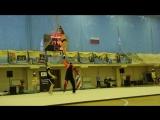 Барсуки. Отборочные соревнования на чемпионат России по черлидингу СЧР