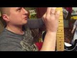 Моя именная гитара Дэвида Гилмора из Соединенных Штатов Узкоглазии!