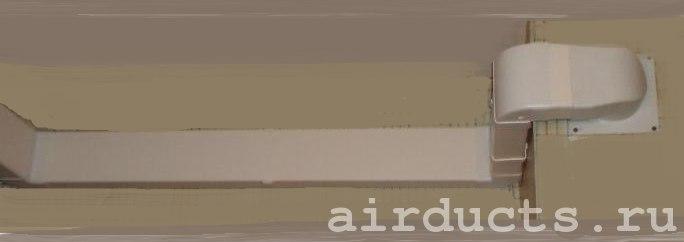 Система вентиляции из пластиковых воздуховодов