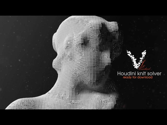 VFX Homelands - Houdini Knit Solver Tutorial Part 2