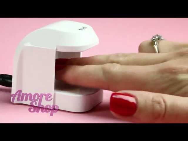 УФ LED лампа Kodi Professional Mini (мини лед лампа Коди для гель-лаков). Видео обзор от AmoreShop