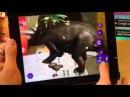 Живая раскраска Тайны Динозавров Украина
