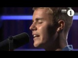 Justin Bieber- Cold Water (Acoustic)(BBC Radio 1 Live Lounge 2016)