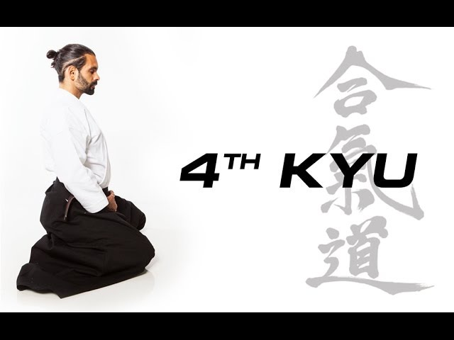 Aikido Techniques for Beginners 4th Kyu Test Requirements