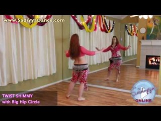 Free Online Belly Dance Class: Mini Supercharged Shimmies