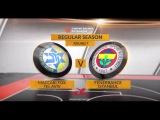 Highlights: Maccabi FOX Tel Aviv-Fenerbahce Istanbul. Евролиги. Обзор. Маккаби Тель-Авив - Фенербахче