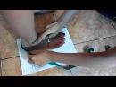 Как снимать мерку ноги