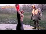 [eng subs]18+ DPR commander Olkhon tortures and [allegedly] executes a drugdealer