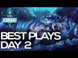 ESL ONE GENTING Dota 2 - BEST PLAYS - Day 2