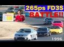 FD3S RX 7が265馬力に進化 激アツ筑波BATTLE Best MOTORing 1996