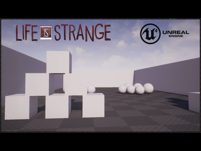 Life is Strange - New Skin and Power - Unreal engine