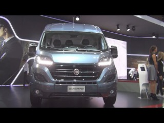Fiat Ducato Combi Shuttle L3H2 2 3 EcoiJet 150hp SCR (2017) Exterior and Interior in 3D