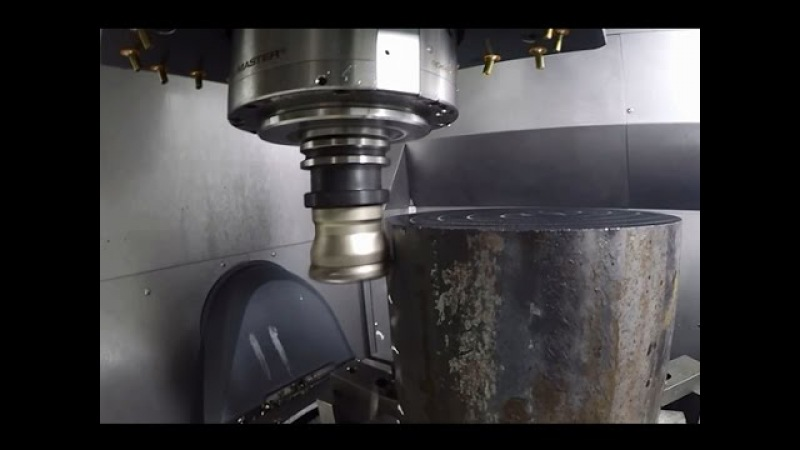 Cutting metal is as easy as cutting potatoes Popular CNC technology
