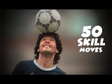 Diego Maradona Top 50 Amazing Skill Moves Ever  Is this guy the best in history D10S