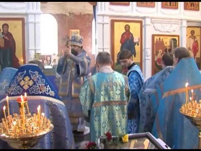 Первая Божественная Литургия в храме Рождества Пресвятой Богородицы ст. Челбасской