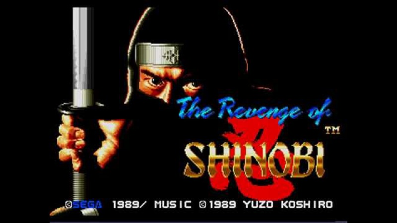 TOP 64 MD | THE REVENGE OF SHINOBI (SEGA, 1989, 90) MUSIC BY YUZO KOSHIRO