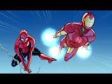 Spider-Man Iron Man In... Training Day, Part 1 | Marvel Video Comics | Disney XD