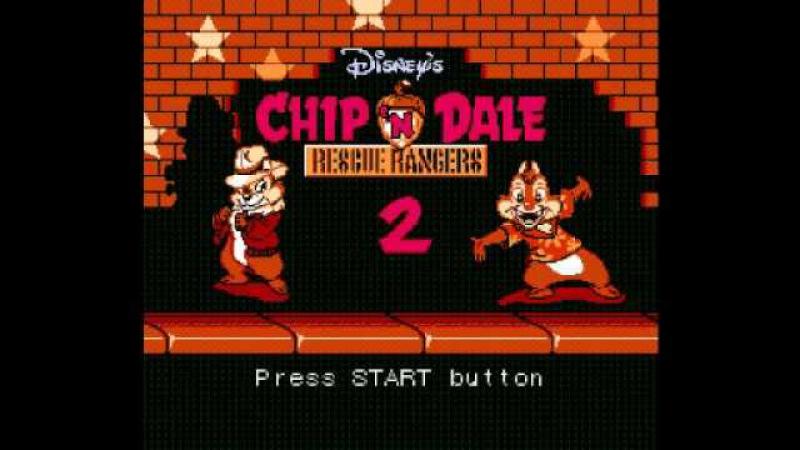 Chip 'n Dale Rescue Rangers 2 (NES) Music - Final Battle