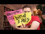 Examples of this and bind - Object Creation in JavaScript P2 -  FunFunFunction #44