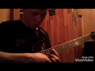 Bullet for my valentine _-_ waking the demon (solo) учу 😇