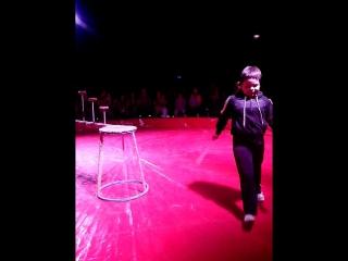 Побег с арены цирка шапито