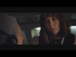 Девушка сделала минет прямо в салоне самолета
