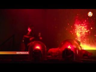 Огонь Полярной олимпиады зажгли на главной площади города-героя