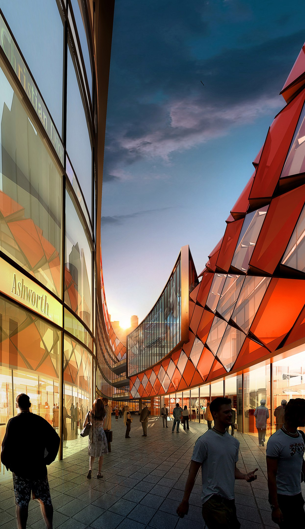 Sunlay Design Group's Folklore-Inspired Retail Center Will