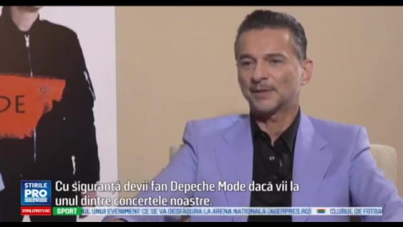 Интервью Дейва для ProTv Romania (12.10.2016)