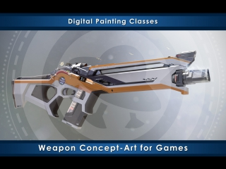 Weapon Сoncept-Art for Games online course