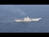 WINER - Aircraft Carrier Admiral Kuznetsov !!! Адмирал Кузнецов идёт домой через ЛА-МАНШ !!!