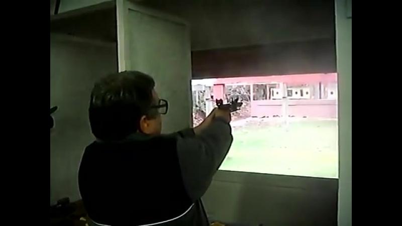 Flintlock Кремнёвый двухствольный пистолет