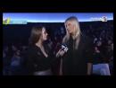 Наталья Рудова о клипе Анны Седоковой Вселенная на презентации видео певицы