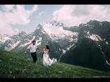 Свадьба в горах: наши красивые пары, невероятные эмоции и потрясающая природа Кавказа!