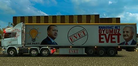 Referandum AK Parti Evet Trailer Skin