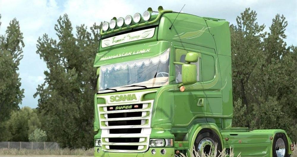 Грузовик Scania R730